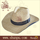 New fashion hige quality paper cowboy hat patten