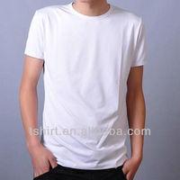 wholesale plain white 100% cotton t shirts for men