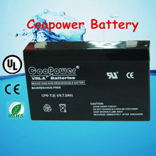 Sealed Lead acid battery /Eemergency battery/Rechargeable battery/6V7AH