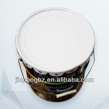 Impresso pintura cor barato galvanizado de metal balde