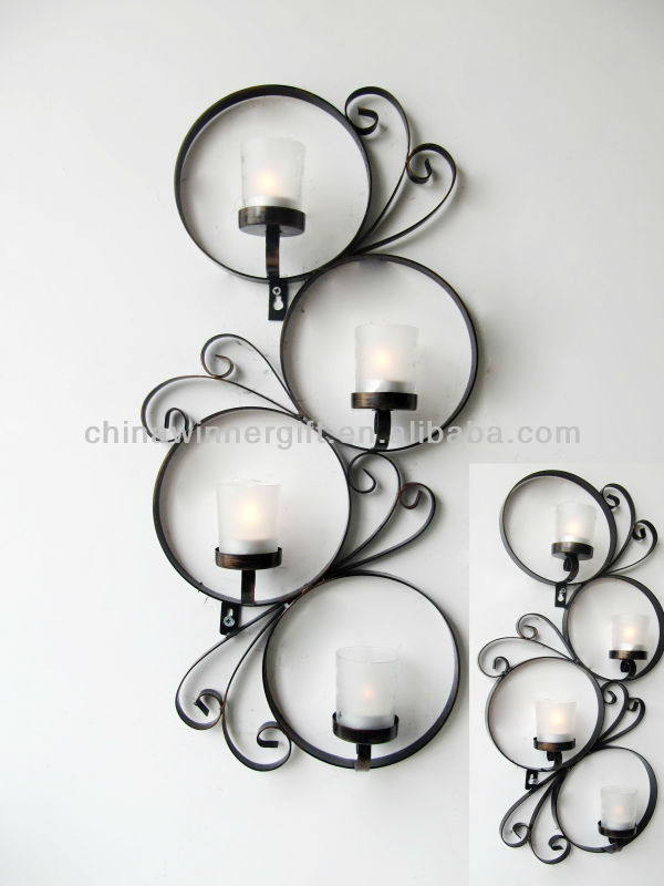 Wall Hanging Tea Light Holder : Round Wall Mounted Tea Light Candle Holder Decorative Wall Hanging - Buy Round Wall Candle ...