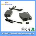 Interruptor de red / converter de fibra media con puerto simple 100M/1000M4
