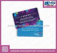 High quality pvc plastic card printing