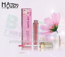 HAPPY PARIS Lip gloss- colorful/shiny and sheer lip colors