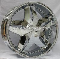 Car chrome 22 inch dubai alloy wheel