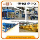 concrete block making machine QT10-15 CE ISO hollow block factory