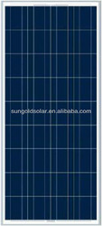 Chinese Hot sale panels solar 140W for PV system