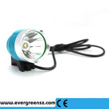 Outdoor headlamp cree xml t6 led bike light 1800 lumens