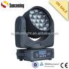 3 phase motor 19x12w beam wash zoom led moving head