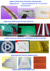 High performance UHMWPE spare parts for food,paper industrial