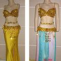 Caliente la venta de oro de trajes de carnaval brasil( xf- 031)