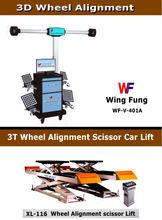 3D wheel alignment + 3.5T Special Scissor Lift
