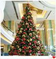 Nuevo diseño al aire libre& interior grande del árbol de navidad
