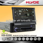 Direct Factory Android car dvd for 1 din car audio and video