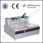 Commercial electric fryer/Double tank chips fryer/Kitchen fryer