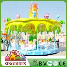 Super hot deluxe carousel merry go round