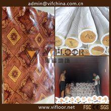 best design and top sale indoor pvc flooring 1.6mm thickness