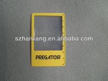 Portable 86*54mm card pocket magnifier