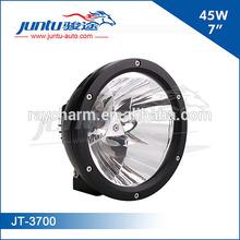 Juntu new design auto 7 inch round led mkr 45w 12v led driving light