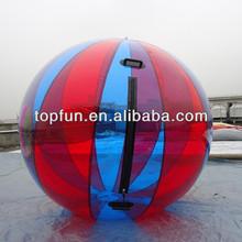 PVC Colored Inflatable Water Ball / Human Aqua Ball / Inflatable Water Ball