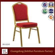 China fabricante empilhável cadeira de alumínio