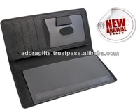 ADACHB - 0079 Checkbook Covers/ Leather Checkbook Cover/ Checkbook Cover With Card And Passport Holder