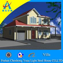 Elegant Appearance Prefabricated Villa House(CHYT-V3006)