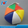 promotion multi color hacky sack juggling ball