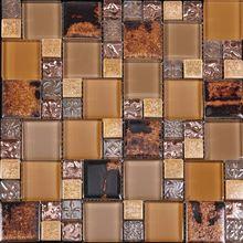 Latest design decoration wall tile floor tile glass mix ceramic mosaic ceramics tile silicone sealant