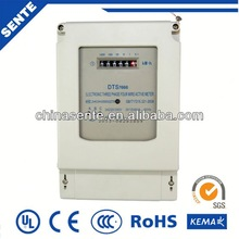 DDS7666 single-phase din rail digital electric digital power meter energy meter lcd display panel