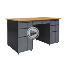 modern executive desk office table design/office desk height adjustable/simple design office computer workstation desk