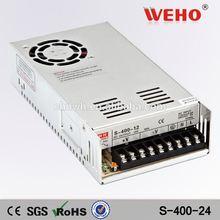 Input 220v ac dc power supply 24v cctv power supply 400w 16.5a 24v power supply