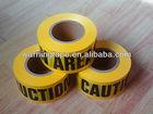 "Caution tape 3""x1000'x2mil"