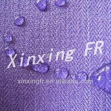 Soft handfeel EN11612 100% Cotton Fireproof/Oil&Water Repellent Denim for Workwear/Canopy/Tent