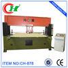 CH-878 Hydraulic Auto Four-column Travel Head cnc leather die cutting machine