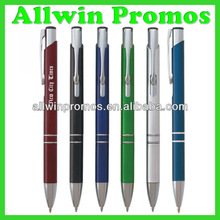 Promotional Metal Pen With Logo/Metal Ball Pen/Metal Ballpoint Pen