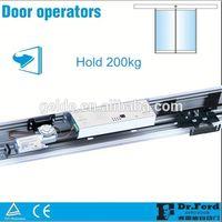 Automatic Sliding Glass Door Mechanism