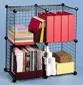 DIY Metal Wire Grid Shoe Hanger Storage Cube