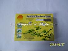 Branco reciclado A4 papel de cópia