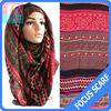 aztec tribal Fashion hijab scarf,hot hijab sexy muslim scarf