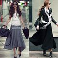 el último diseño de falda larga para los modelos de venta al por mayor de faldas largas