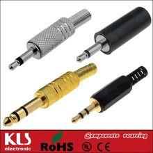headphone with 2.5mm plug UL CE ROHS 70