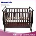 2014 pinho maciço de madeira do bebê de madeira berço com gavetas