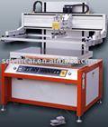 Semiautomatic pneumatic flatbed vacuum inspiratory screen printer