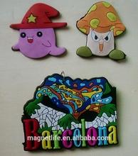 Yiwu Custom soft PVC fridge magnets