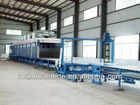 Horizontal Automatic Continuous Foaming Production line