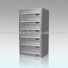 GH-V16S stainless steel apartment letterbox