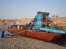 120cbm/h River Gold Mining Dredge Boat for sale