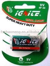 6F22 9V Dry Cell Battery