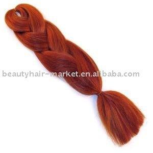 100% Kanekalon Ultra Jumbo Braiding,Synthetic Hair Braid,X -Pression Braid